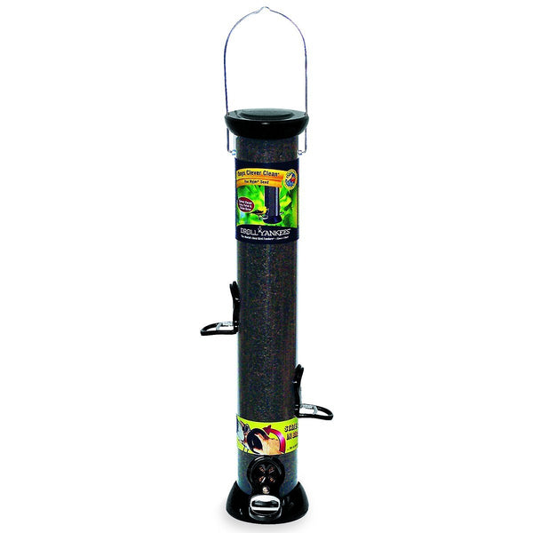 Droll Yankee - 18 in. Onyx Nyjer Tube Bird Feeder