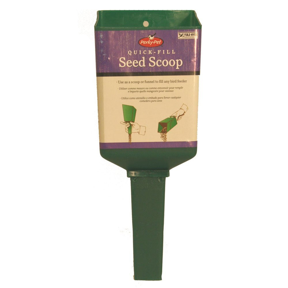 Quick Fill Bird Seed Scoop--Perky Pet #342