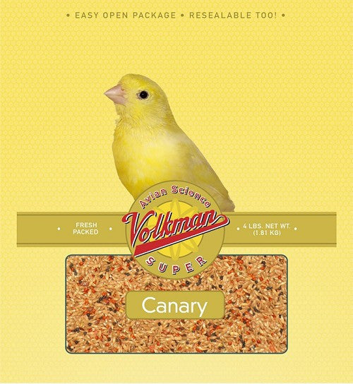 Avian Science Super Canary Food 4 lb (1.81 kg) - Feathered Friends of Santa Fe (www.ffofsf.com)