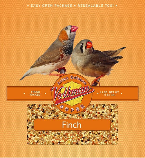 Avian Science Super Finch Food 4 lb (1.81 kg) - Feathered Friends of Santa Fe (www.ffofsf.com)