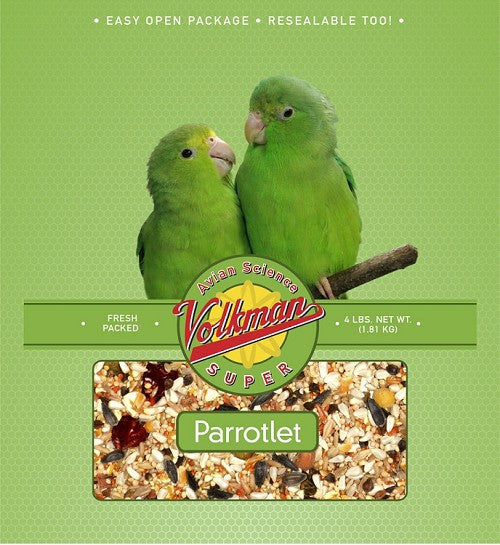 Avian Science Super Parrotlet Diet 4 lb (1.81 kg) - Feathered Friends of Santa Fe (www.ffofsf.com)