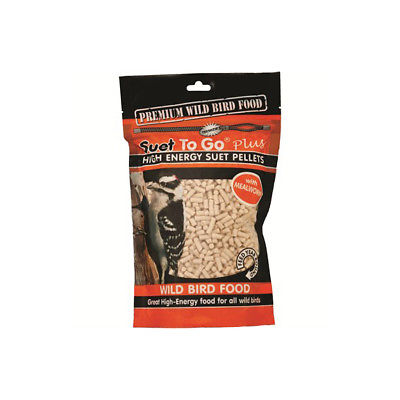Suet To Go Plus - High Energy Suet Pellets- Mealworm