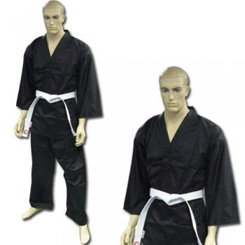 DRAGON KARATE UNIFORM (BLACK) - 8oz