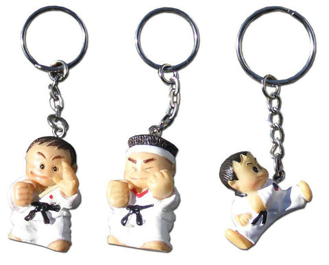 3D MINI CARTOON MAN - KEY RING