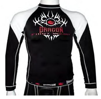 DRAGON RASH GUARD - LONG SLEEVE