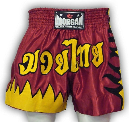 MORGAN 'FLAME' MUAY THAI SHORTS