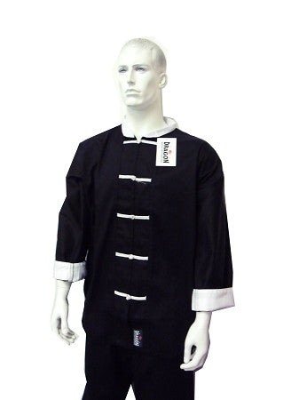 YAMASAKI KUNG FU UNIFORM (WHITE TRIM) - 10OZ