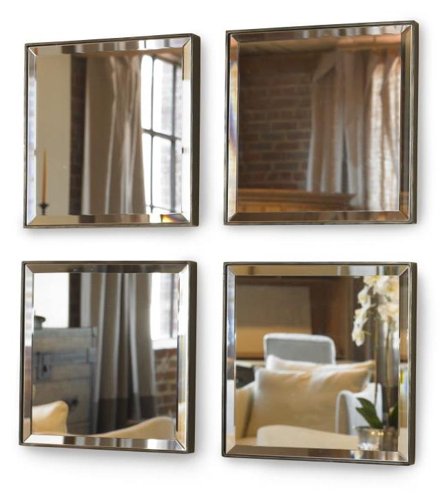Mini Mirror Set - Four Mirrors