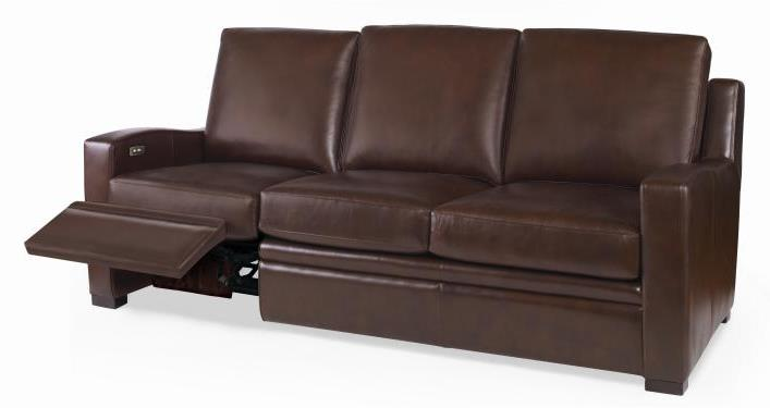 Leather Sofa with Motion