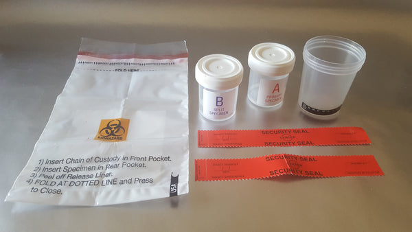 Non-DOT Split Specimen Secure Urine Collection Kit w/o Shipping Box