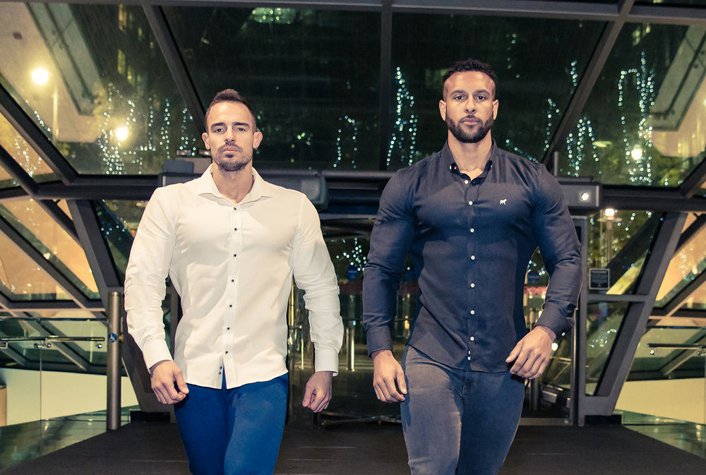 the best muscle fit clothing made for bodybuilders and athletes.