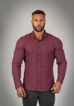 red timber muscle fit shirt for bodybuilders and athletes