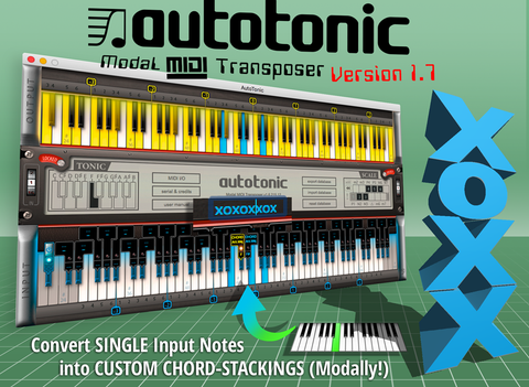 INTERVAL & CHORD STACKING (AutoTonic v1 7 Update)