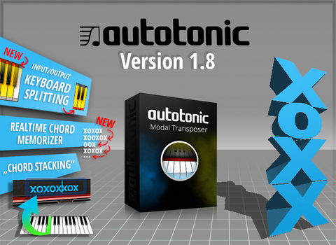 Keyboard Splitting Chord Memorizer V18 Update Autotonic