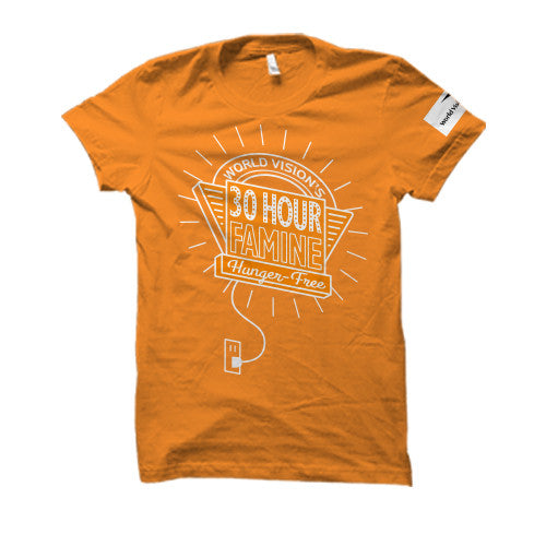 30 Hour Famine T-Shirts  WV1013