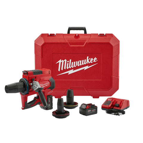 "Milwaukee 2633-22 M18 FORCE LOGIC ProPEX Expansion Tool Kit, 2"" - 3"" Heads"