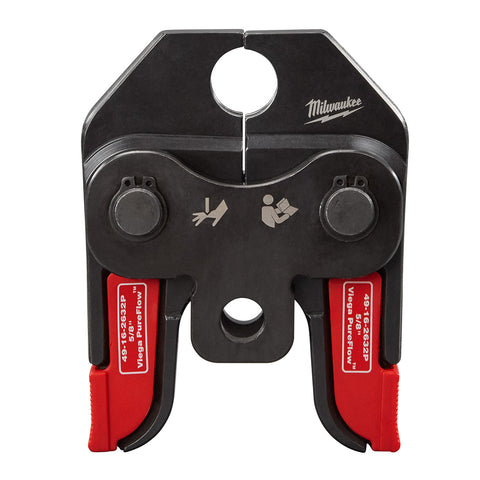 Milwaukee 49-16-2632P M18 Short Throw Press Tool Replacement Viega PureFlow Jaw, 5/8""