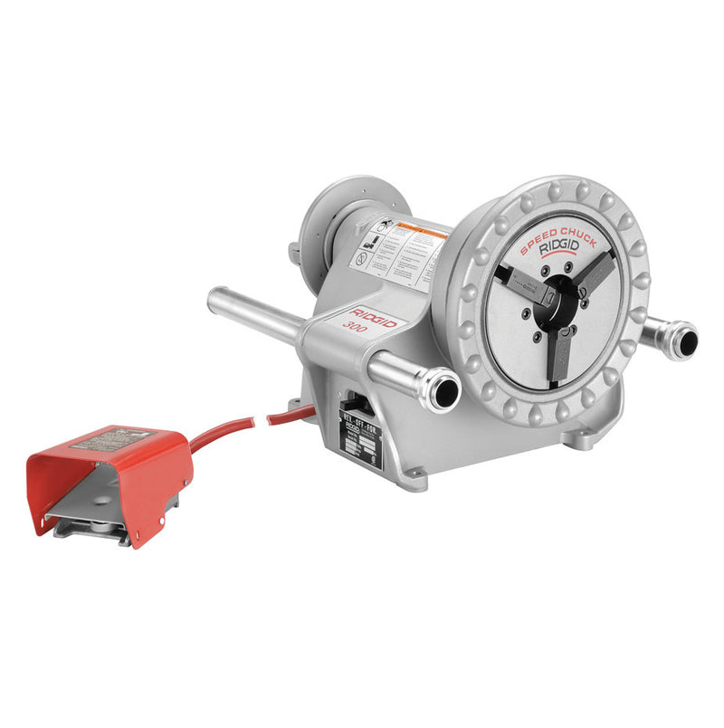 RIDGID 15722 300 Complete (57 RPM) Pipe Threading Machine