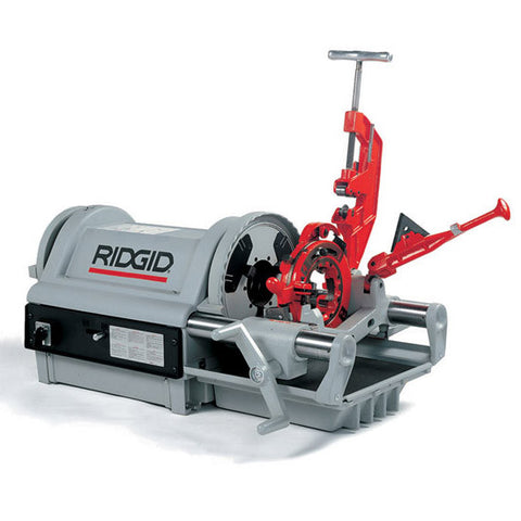 "Ridgid 26092 Model 1224 Pipe Threading Machine  1/4""-4"" Capacity"