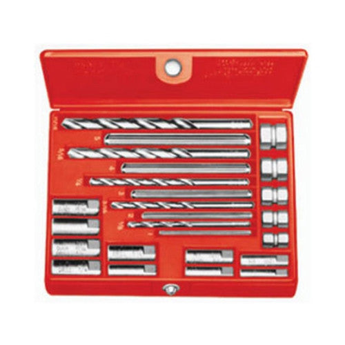 "RIDGID 35585 No. 10 Screw Extractor Set, 1/4"" to 1/2"" Broken Screw Extractor"