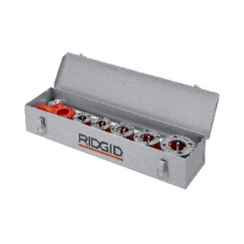 RIDGID 38625 Metal Carrying Case for 12-R Threader Holds 6 Dies