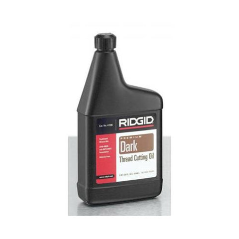 RIDGID 41590 Low Odor Anti-Misting Dark Threading Oil, 1 Quart