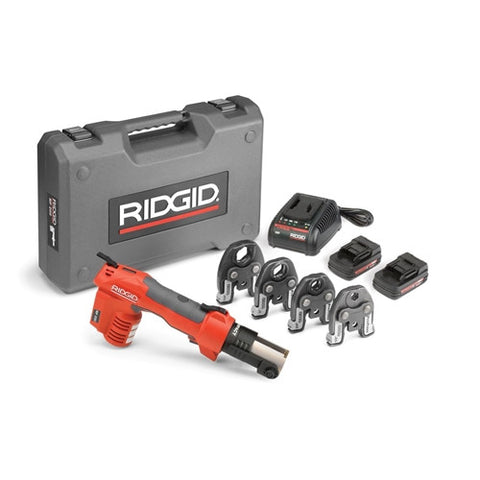 "Ridgid 43433 RP 200-B Press Tool Kit with ProPress Jaws (1/2"" to 1"")"