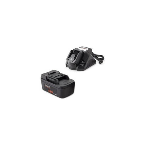 RIDGID 44848 One 2.0Ah Battery and Charger Kit