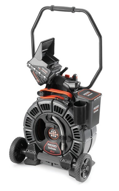 RIDGID 47528 rM200B SeeSnake MAX reel with D2B Drum
