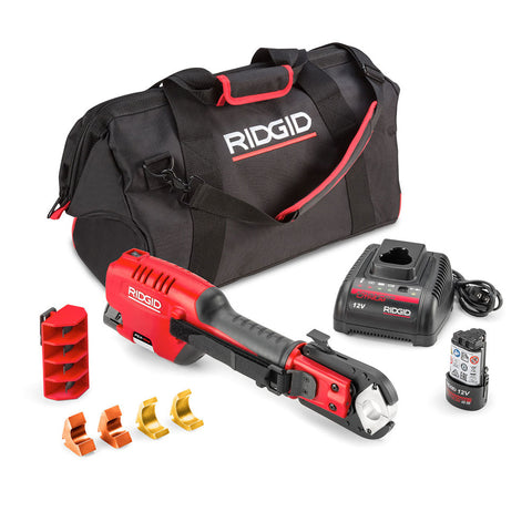 "Ridgid 54253 PEX-One 12V Press Tool with 1/2""-1"" ASTM Jaws"
