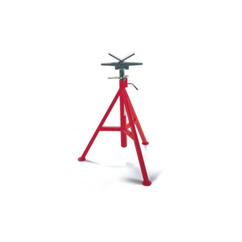 "RIDGID 56657 RIDGID V-Head Low Pipe Stand (20"" - 38""H)"