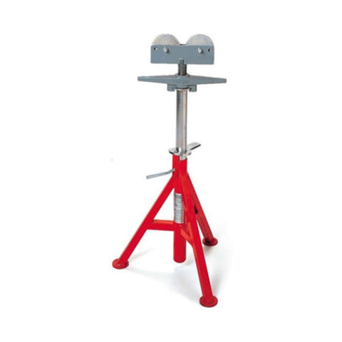 RIDGID 56672 Roller Head High Pipe Stand - Model RJ-99