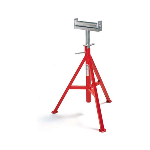 "RIDGID 56682 CJ-99 29"" - 44"" Conveyor Head Pipe Stand, 12"" 1000 lb Capacity"