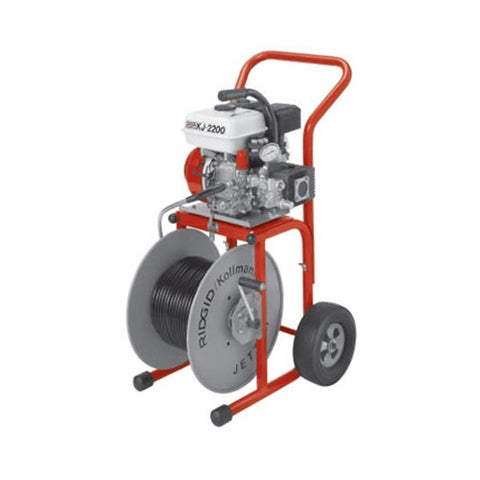 RIDGID 63882 K-J2200 Jetter with H30 Cart