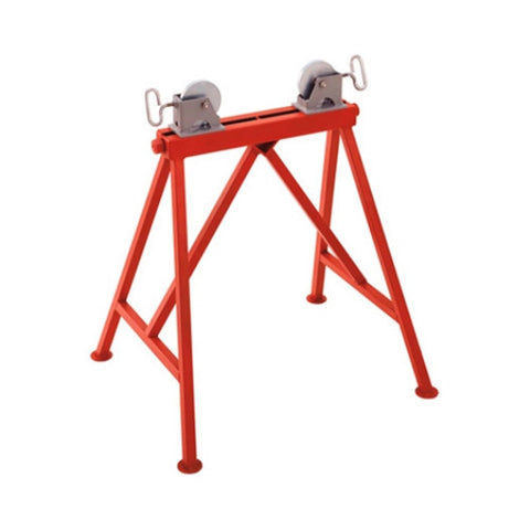"RIDGID 64642 AR-99 Adjustable 36"" Pipe Stand Roller Support with Steel Wheels"