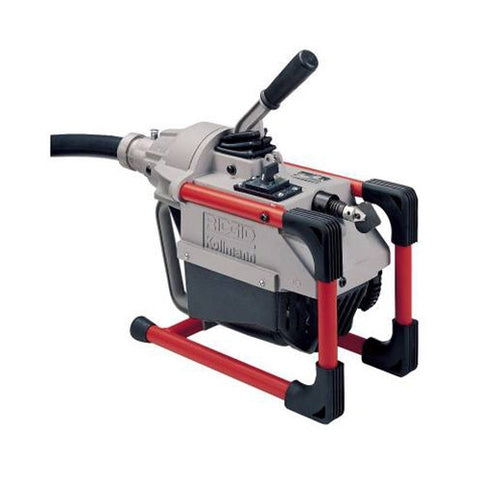 RIDGID 66497 K-60SP-SE 115V Sectional Cable Machine with A-1 Mitt and Pin Key/Hose