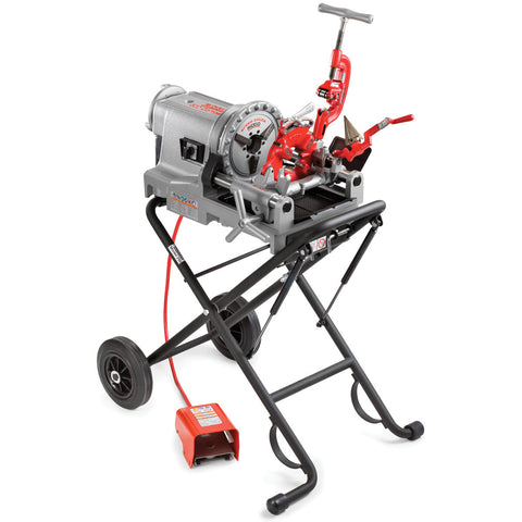 Ridgid 75602 52 RPM 300 Compact Pipe Threading Machine w/ 250 stand