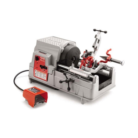"Ridgid 84097 535A (pipe 1/2 - 2"") Automatic Threading Machine (2 Die Sets 1 Die Head Included)"