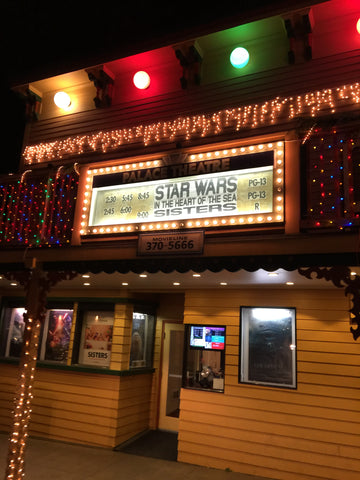 Roche Harbor Resort Friday Harbor San Juan Islands movie theater start wars force awakens