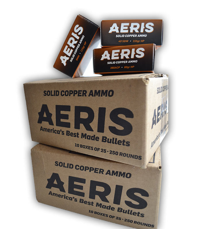 380 ACP 80gr. Aeris Copper Hollow-Point Bullets (Case of 1,000)