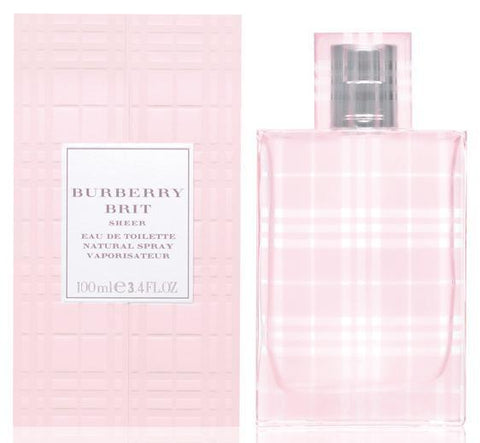 Burberry Brit Sheer Perfume 100ml edt - Stinky Phobia Canada