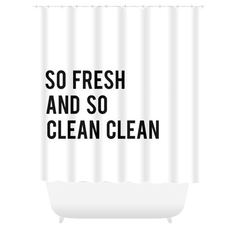 Fresh+Clean Shower Curtain
