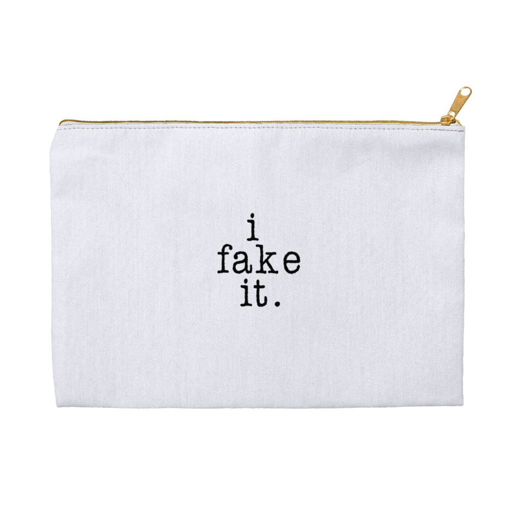 I Fake It Accessory Pouch
