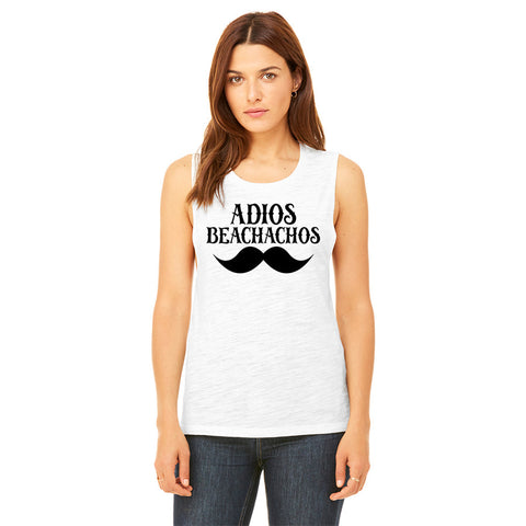 Adios Beachachos Womens Muscle Tank