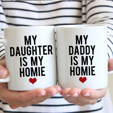 My Daddy Is My Homie Gift Set