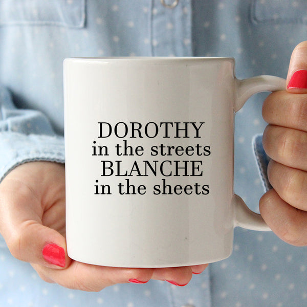 Dorothy In The Streets Blanche In The Sheets Soft TriBlend T Shirt