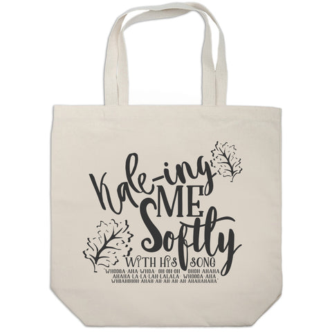 Kale-ing Me Softly Tote bag