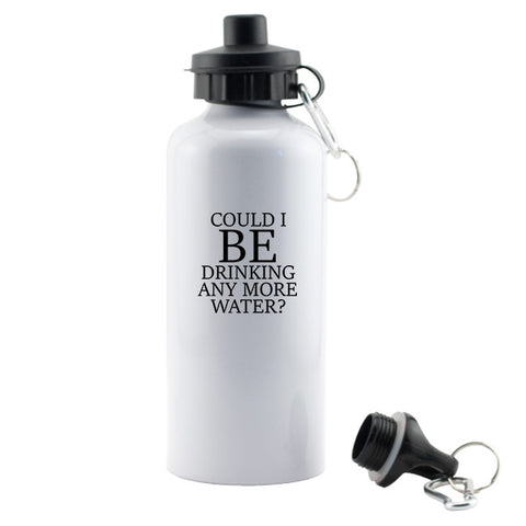 Could I BE Drinking Anymore Water Aluminum Water Bottle