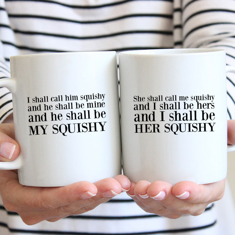 Squishy Matching Mug Set