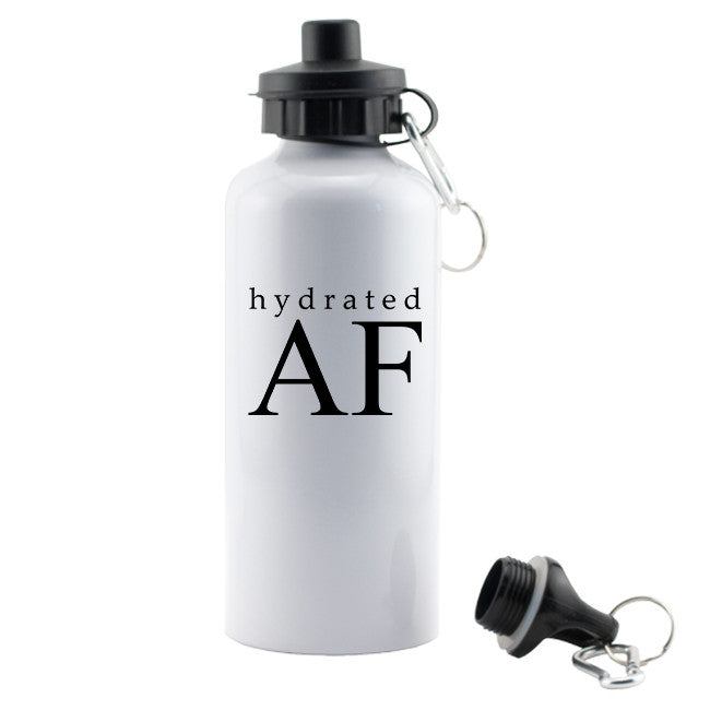 Hydrated AF Aluminum Water Bottle